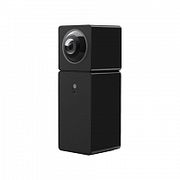 xiaomi hualai xiaofang smart dual camera 360 (black)